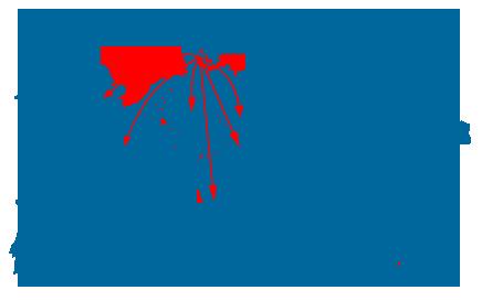 Kurer-/hasteforsendelser til Europa herunder Tyskland, England og Belgien